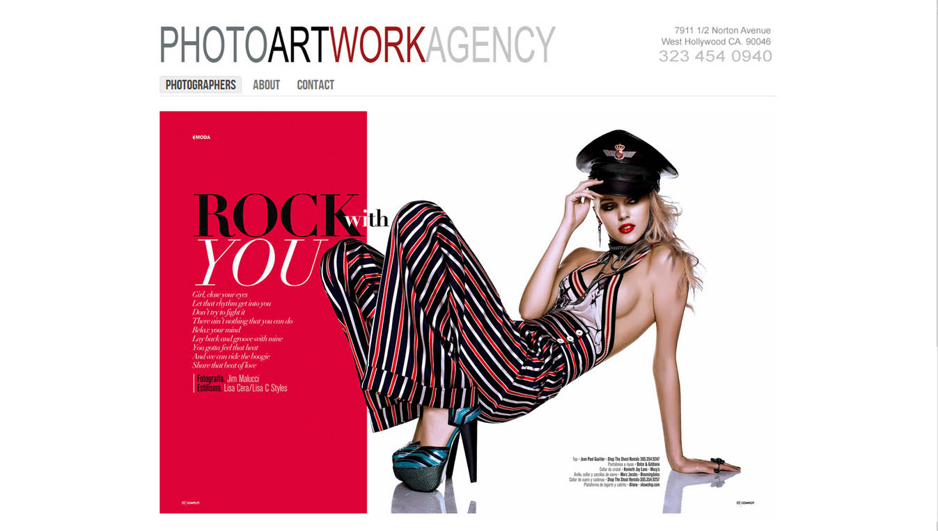 Fashion Photographer Agency